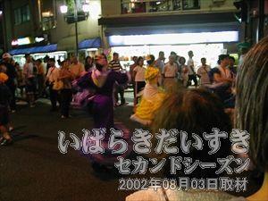 【星のフラメンコ連】<br>七夕踊りもフラメンコ演出にかかると、別のステキな踊りになってしまいます。