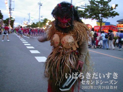 なまはげ<br>秋田の文化、なまはげ。