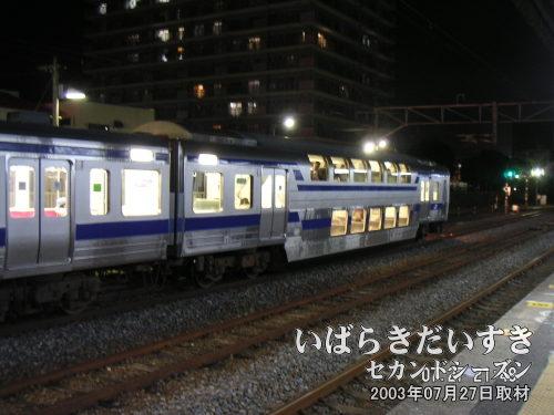 常磐線 2階建て車両 クハ415-1901<br>常磐線に一台だけしか存在しません。過去に一度だけ乗車したことがあります。