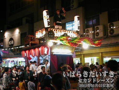 東崎町<br>同じく、土浦駅方面から移動してきました。