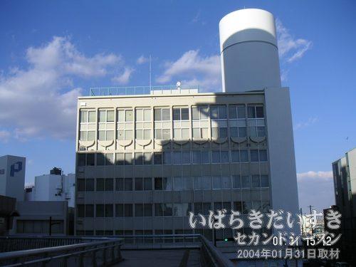 丸井土浦店 跡<br>すでに営業業務は終了しており、丸井に関する看板などは取り払われています。