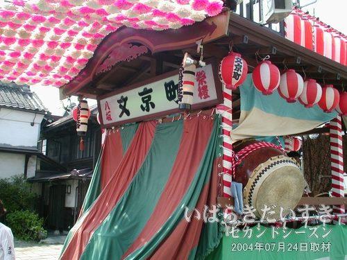 「文京町」の文字が見えます