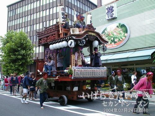 「田中一丁目」の山車