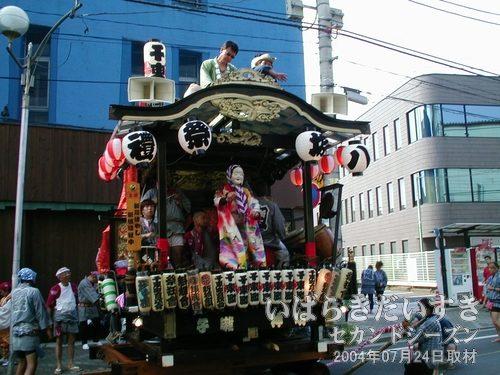 千束町のおかめ<br>新川ばやし 新城組社中による、おかめの踊りです。