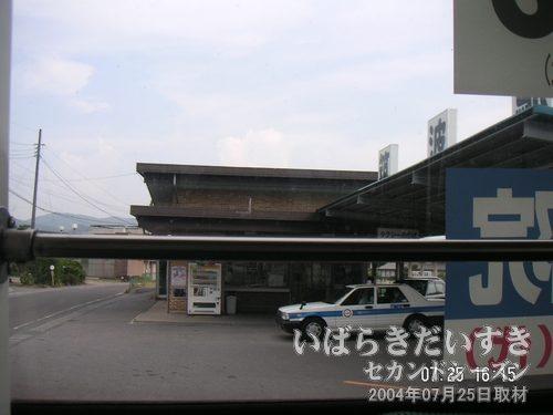 旧・筑波鉄道 筑波駅<br>筑波鉄道がまだ走っていれば、土浦~もっと簡単にここに来られたのに・・・。