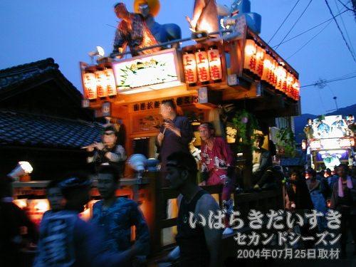 「上宿町」の山車