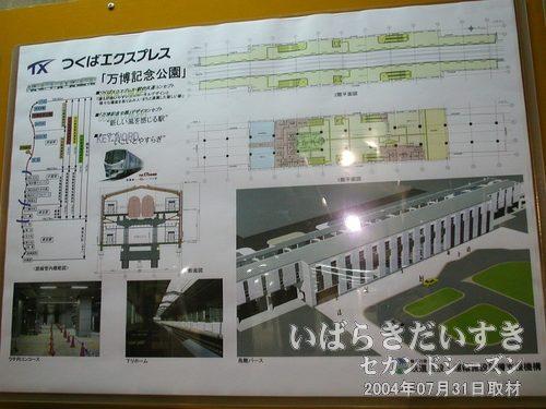 つくばエクスプレス 万博記念公園駅