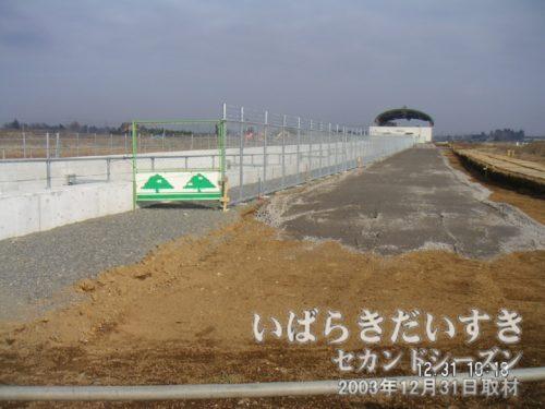 開業前のTXみらい平駅周辺。