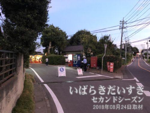 岡野酒店さんの道が、愛宕神社への道。