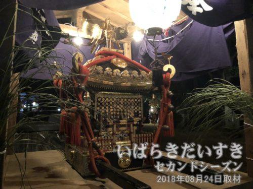 小張愛宕神社の神輿