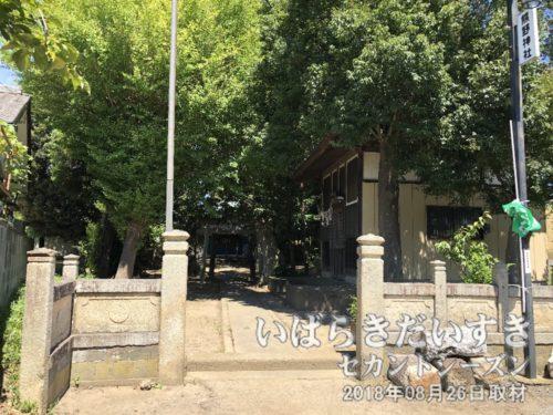 熊野神社〔茨城県取手市宮和田〕