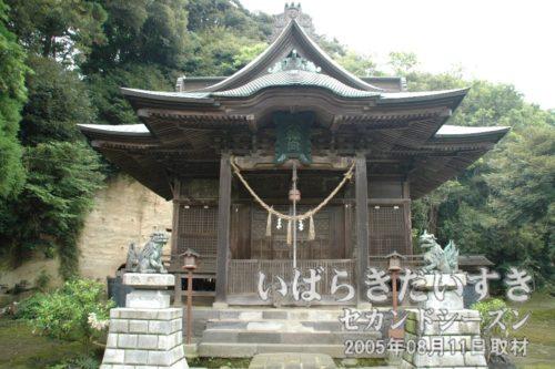 茨城百景 包括風景 八幡神社の眺望