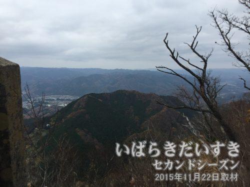 茨城百景 包括風景 長福山 (標高496m)