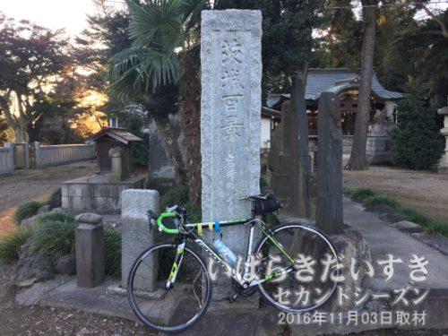 茨城百景_岩井のハイキングコース