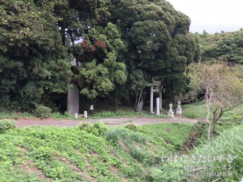 鉾田市の海側の旧道を南下する。