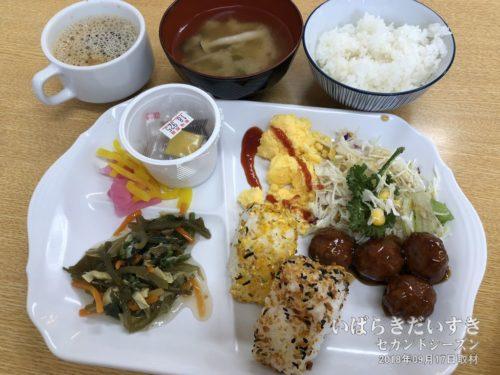 東横イン水戸南口店 無料朝食(2018)