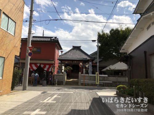 冨田観音堂と富田町の會所