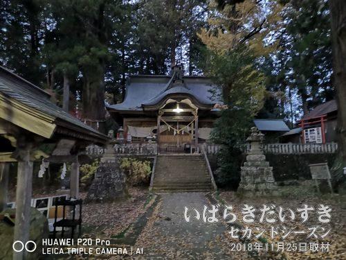 近津神社(下野宮)<br>夏至の頃、御田植祭が催されます。