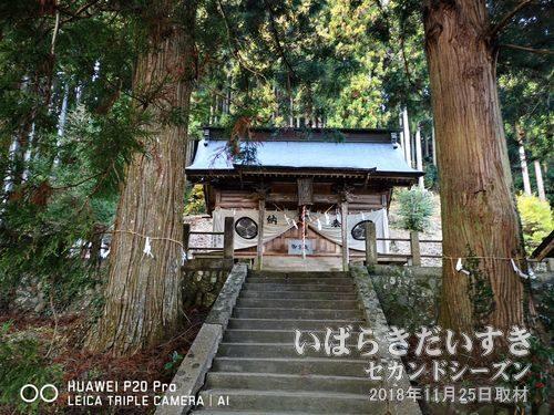 近津神社_上野宮<br>下野宮から分祀されました。