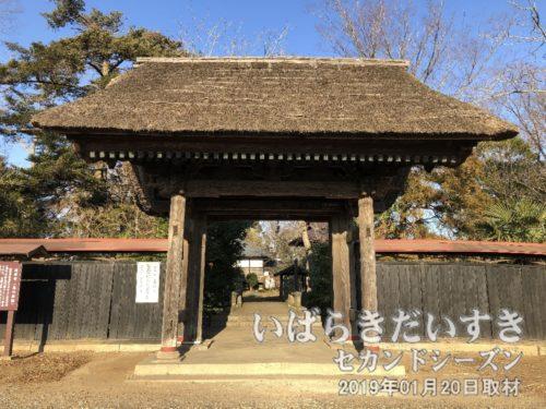 茨城百景 包括風景 島の薬剤 / 島の薬師 延命寺