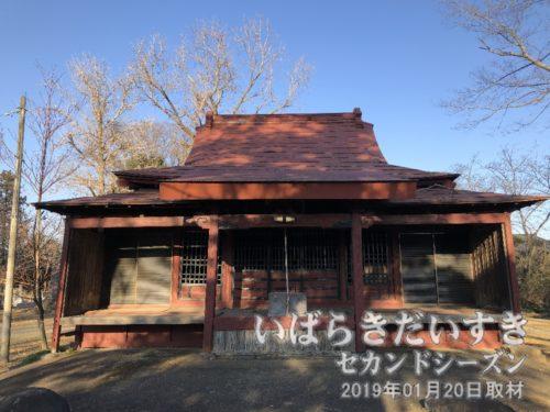 延命寺 薬師堂(仮堂)
