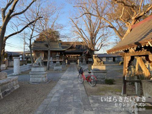 茨城百景 包括風景 千勝神社