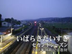 【高架橋から撮影 その4】<br>川のせせらぎのような音が聞こえてきそうです。