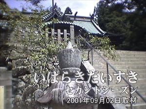 【筑波山神社が見える】<br>階段をかなり登らないとたどり着けません。お年寄りには不向き。