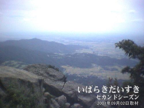 【絶景】<br>これが筑波山女体山から見た、筑波の大地です。平野。