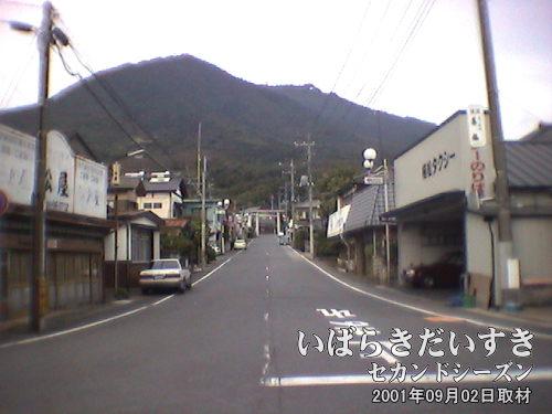 【筑波鉄道 筑波駅から筑波山を眺める】<br>筑波鉄道が廃線になった今、こうやって筑波山を眺める機会は減ったことでしょう。