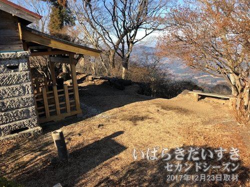 吾国山山頂と田上神社