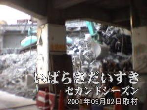 イトーヨーカドー 旧・土浦店の内部右側写真。