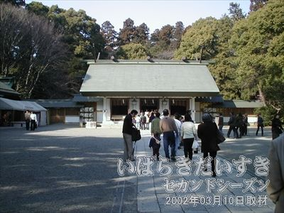 【常磐神社】<br>徳川光圀公、徳川斉昭公を祀る神社。