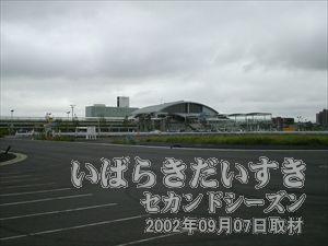 【常磐線 ひたち野うしく駅 西口】<br>駅前は整備が始まろうとしています。こういう風に見えるひたち野うしく駅も、そう長くはないでしょう。