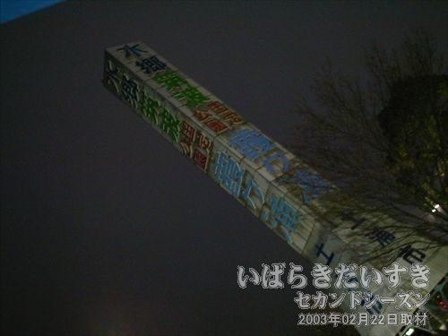 霞ヶ浦国定公園のタワー<br>以前壊れていたのですが修繕され、色も塗り替えられています。