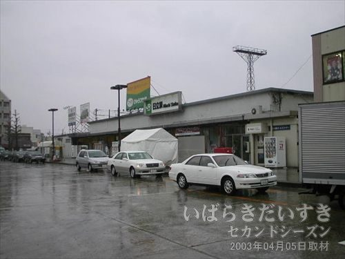 常磐線 日立駅 中央口<br>こちらの駅前の方が栄えています。