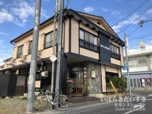 銚子屋旅館:お世話になりました。