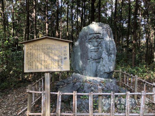 茨城百景 包括風景 雪村の遺蹟 / 雪村の碑