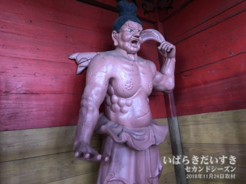 武生神社 仁王門 金剛力士像 阿形