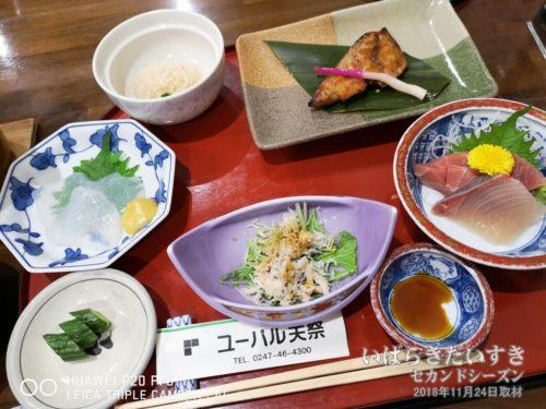 ユーパル矢祭:夕食