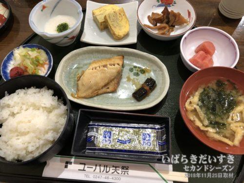 ユーパル矢祭 朝食