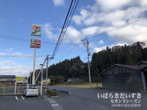 セブンイレブン 矢祭中石井店を通過。