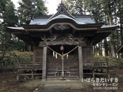 近津神社 町付 拝殿。