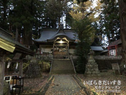 茨城百景 包括風景 近津神社 下野宮
