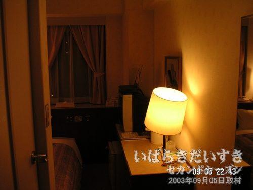 チサンホテル神戸<br> 09月05日(金)の夜に帰京する予定が、取引先にごちそうになり、帰れず。