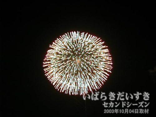 22:昇曲導三重芯変化菊<br>丸玉屋小勝煙火店