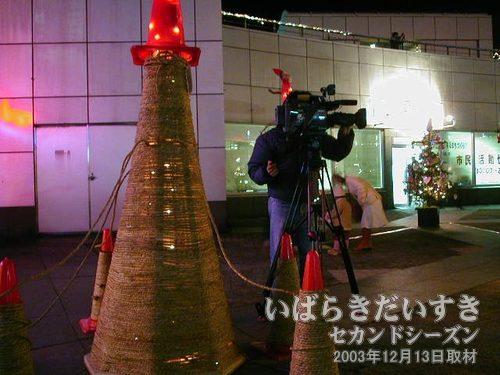 撮影しているのを撮影する:その1<br>報道関係者に負けられません!