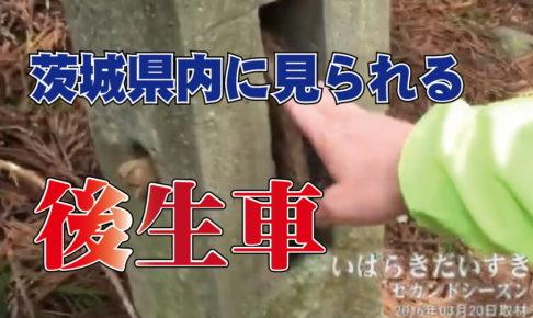 茨城県内に見られる「後生車」