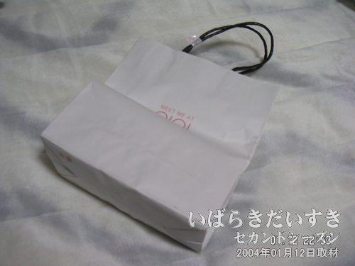丸井の紙袋<br>かなりの買い物をしてしまいました。