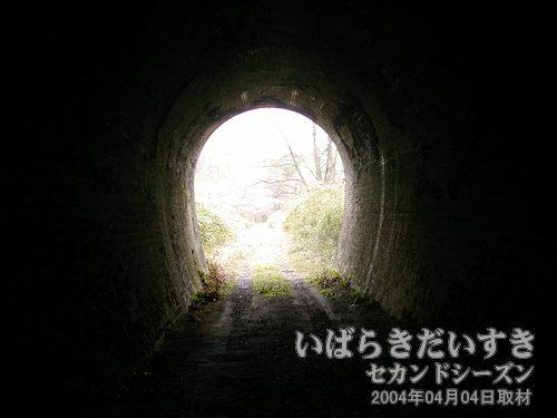 第二耳ヶ谷トンネルを通過<br>こちらのトンネルも距離が短い。